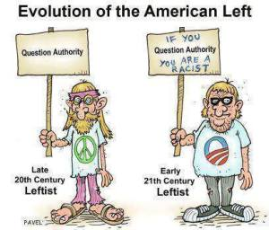 evolution of the left