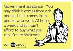 government assistance