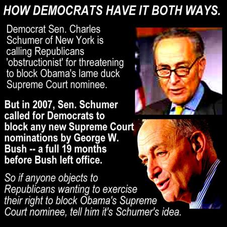 for thee - schumer