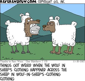 Image result for conservative wolf in sheep's clothing